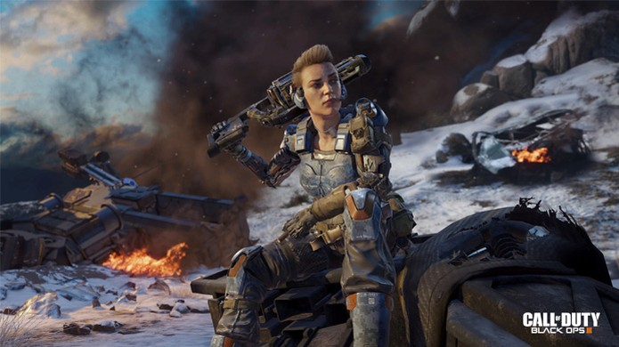 Call of Duty: Black Ops 3 será o primeiro da série com opção de protagonista feminina (Foto: Reprodução/Gematsu) (Foto: Call of Duty: Black Ops 3 será o primeiro da série com opção de protagonista feminina (Foto: Reprodução/Gematsu))