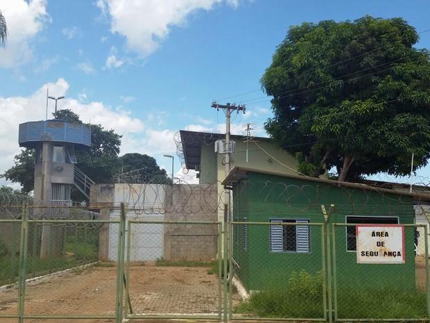Entrada da unidade de internação de Planaltina, no Distrito Federal (Foto: Cristiano Torres/Sindsse)
