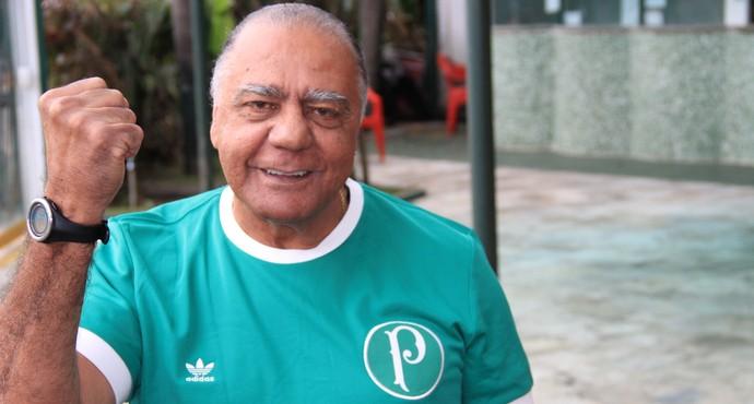 Palmeiras centenário - César Maluco (Foto: Sergio Gandolphi)