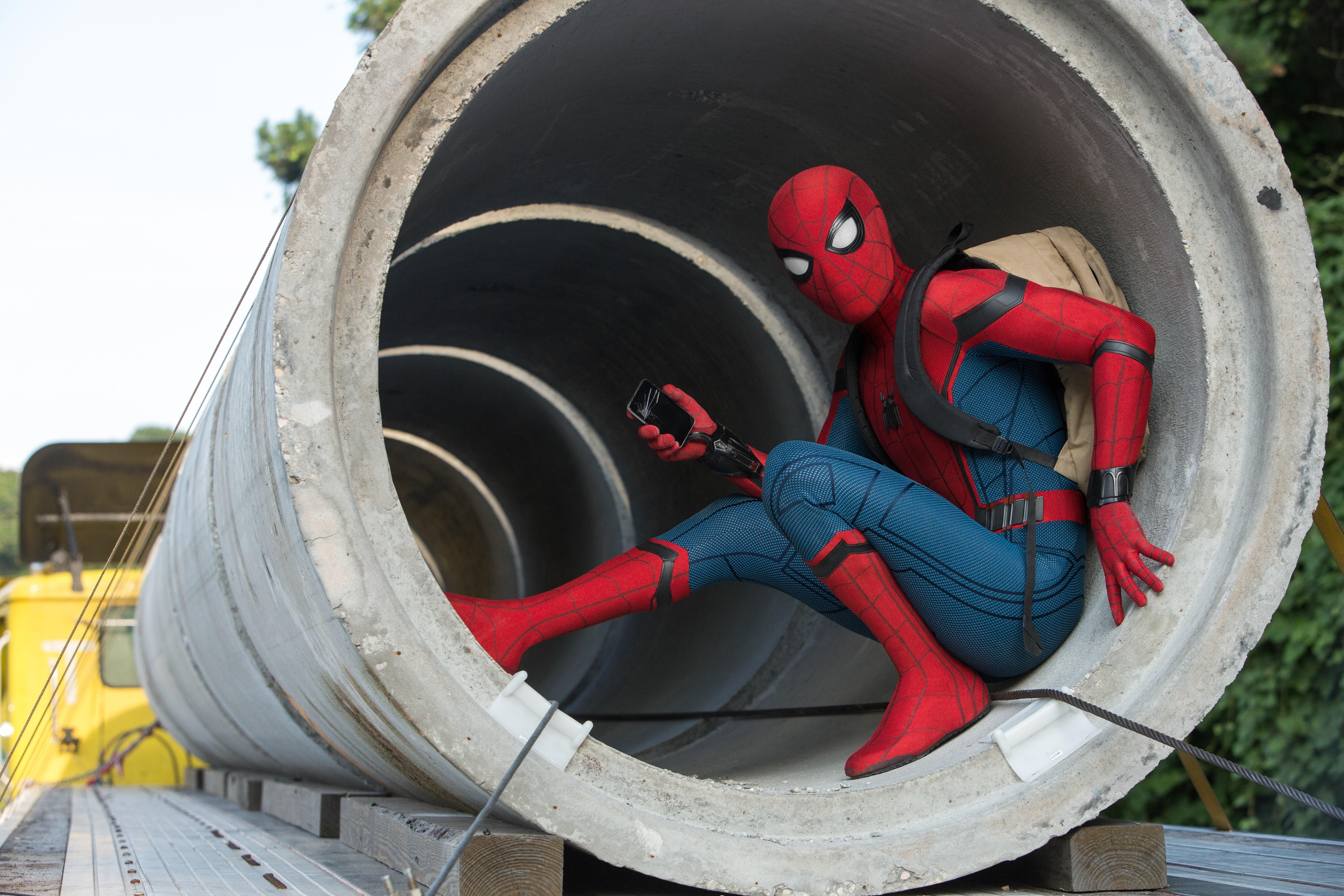Tom Holland como Homem-Aranha em novo filme (Foto: Divulgação )