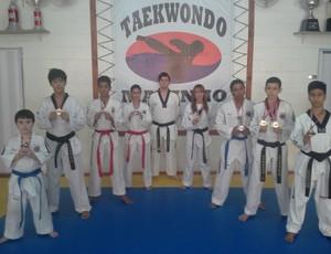 Taekwondista de Mogi das Cruzes (Foto: Divulgação)