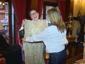 Repórter Regina Lima conversou com Ieda Maria Vargas (Foto: Divulgação/RBS TV)
