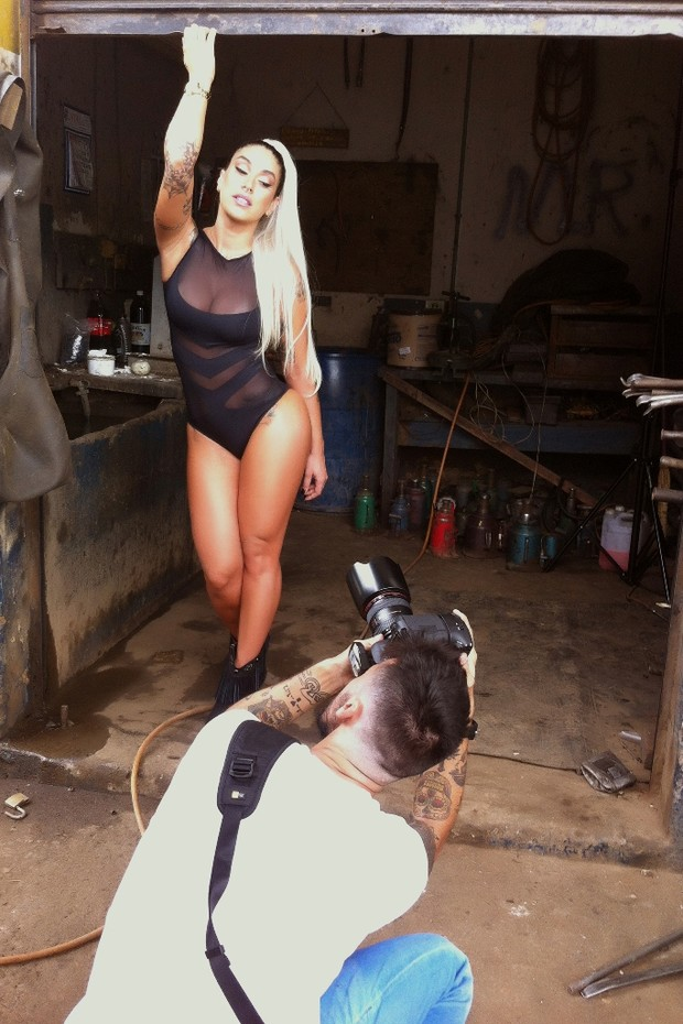 Dani Bolina  (Foto: Revista Sexy / Divulgação)