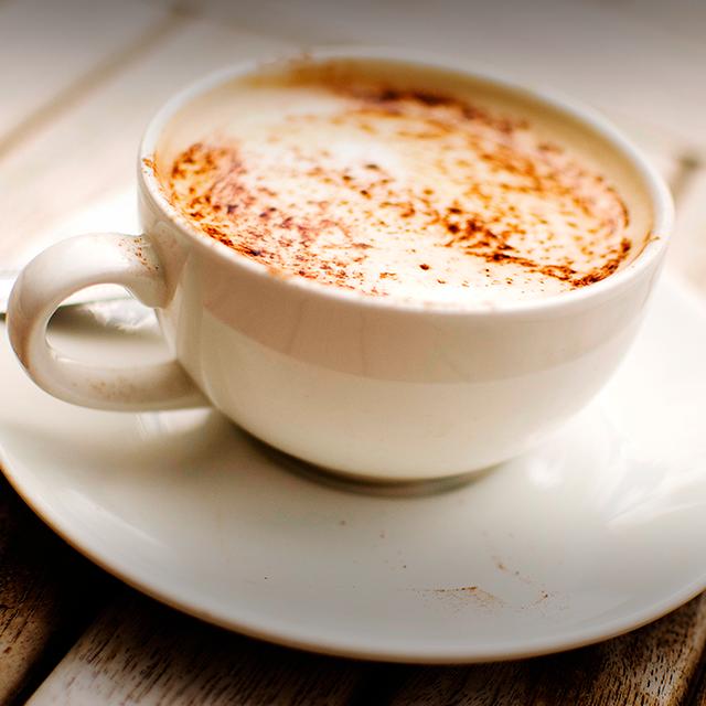 Capuccino com leite de coco (Foto: Instagram/Reprodução)