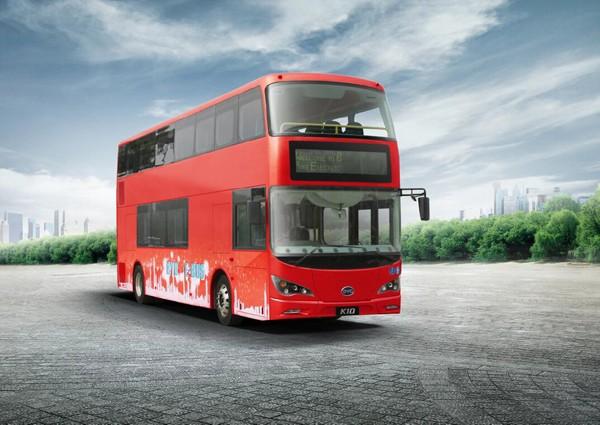 Ônibus de dois andares londrinos serão movidos exclusivamente a eletricidade