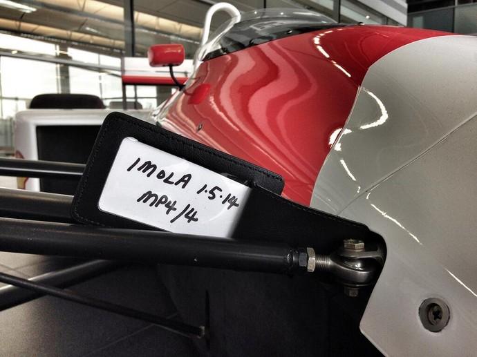 McLaren MP4/4 com o qual Ayrton Senna foi campeão em 1988 já está confirmado no evento (Foto: Divulgação)