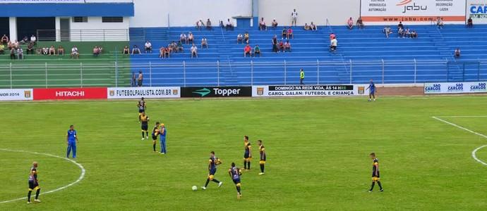São Carlos x Piauí, Copa São Paulo (Foto: Angelo Tedeschi)