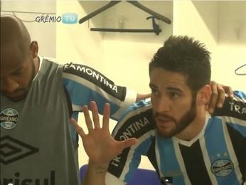 Marcelo Oliveira Grêmio (Foto: Reprodução)