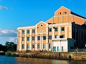 Usina, hoje centro cultural, é cartão postal de Porto Alegre (Foto: Fernando Lopes/G1 RS)