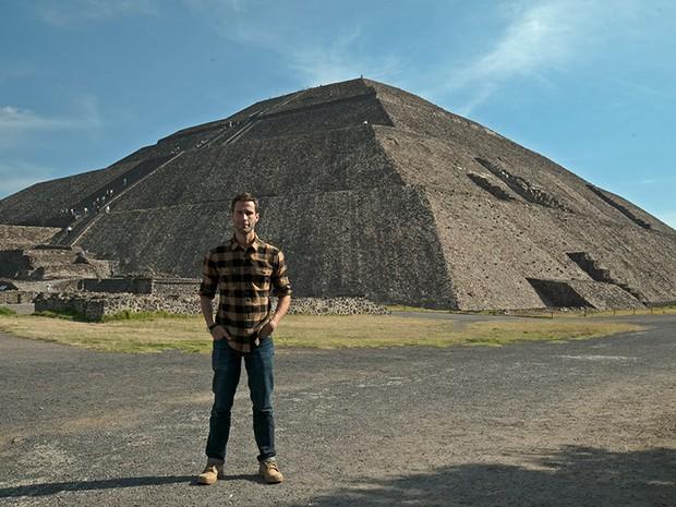 Veja as fotos do episdio de 'Pedro Pelo Mundo' no Mexico (Foto: Gustavo Nasr)