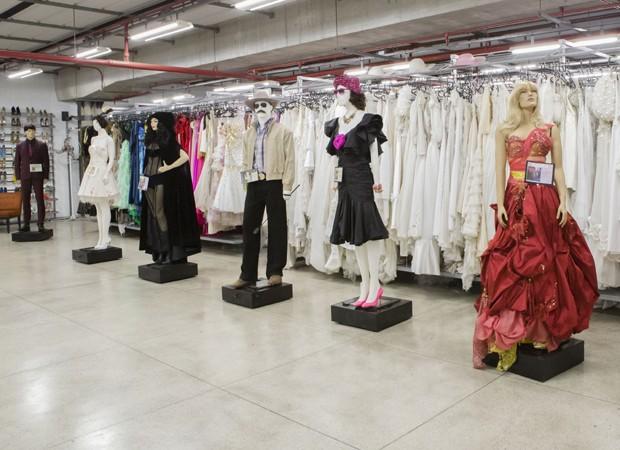 Fantástica fábrica de figurinos da TV Globo reúne acervo com mais de 150 mil peças (Foto: TV Globo)