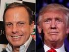 João Doria sobre Donald Trump: 'Não tenho nenhuma identidade com ele'