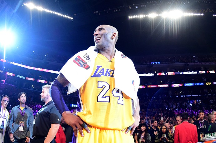 Kobe Bryant despedida NBA basquete Lakers x Jazz (Foto: Getty Images)
