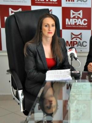 Promotora foi encontrada morta em seu apartamento em Rio Branco  (Foto: Ascom/MP-AC)