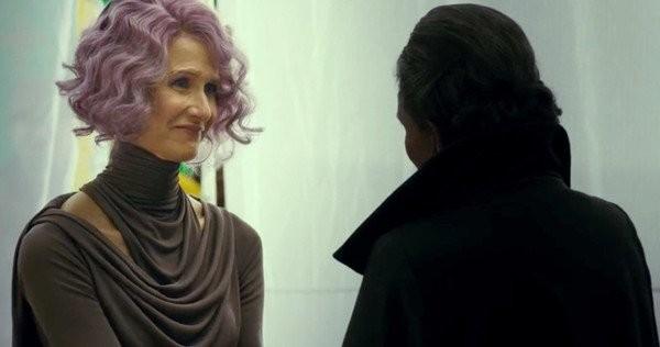 Laura Dern será a Vice Almirante Amilyn Holdo em 'Star Wars: Os Últimos Jedi' (Foto: Reprodução)