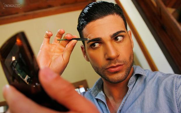 Making of - Rodrigo Lima posa para o Paparazzo (Foto: Alexandre Campbell / Paparazzo)
