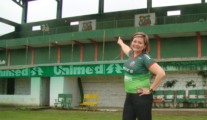 lisete riograndense futebol rs gauchão divisão de acesso presidente (Foto: Gilson Pinto Alves/Divulgação)