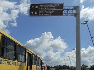 Placas turísticas trilingues serão instaladas no Recife (Foto: Empetur/Divulgação)