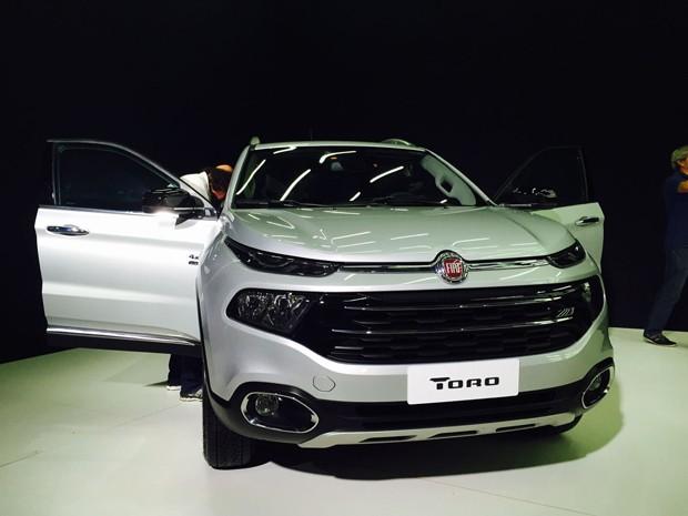 Fiat Toro (Foto: Luciana de Oliveira / G1)