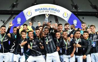 Botafogo estreia na Copa do Brasil em busca da inédita tríplice coroa sub-20