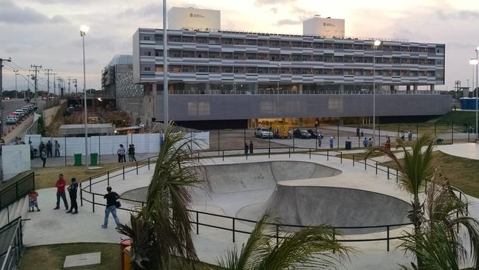 Centro, Formação, Olímpica, inauguração (Foto: Juscelino Filho)