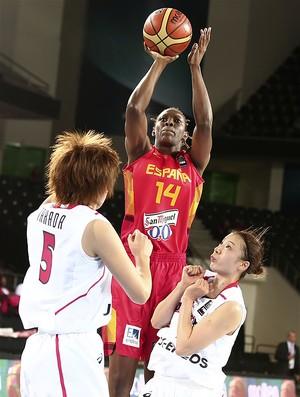 Sancho Lyttle, jogadora de basquete da Espanha (Foto: Divulgação / FIBA)