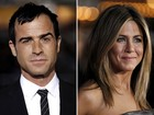 Jennifer Aniston se casa com Justin Theroux em Los Angeles