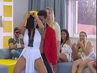 Suzy Cortez entra em reality show e dança coladinha com participante