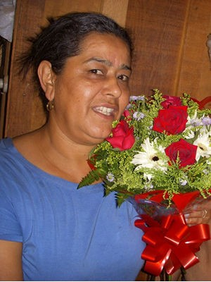 Mulher morreu participou de evento e morreu após dar entrada em hospital (Foto: Arquivo Pessoal/Rosalina Ribeiro)
