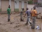 Alagamentos são registrados após chuva em cidades do Sul de Minas