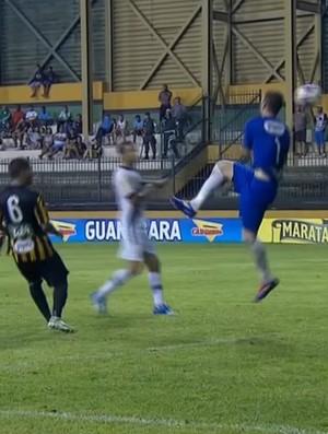 Renan goleiro Tigres Vasco (Foto: Reprodução SporTV)