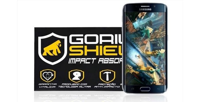 Película de polietileno para Galaxy S6 (Foto: Divulgação/Gorila Shield)