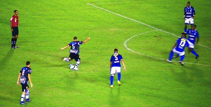 Djavan, volante do Botafogo-PB (Foto: Reprodução / TV Cabo Branco)
