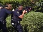 Atirador dispara com rifle em edifício em San Diego, na Califórnia