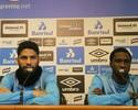No Grêmio, Negueba e Wallace Reis afinam amizade dos tempos de Fla