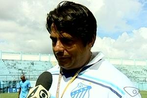 Técnico do São Mateus, Albino Carillo (Foto: Reprodução/TV Gazeta Norte)