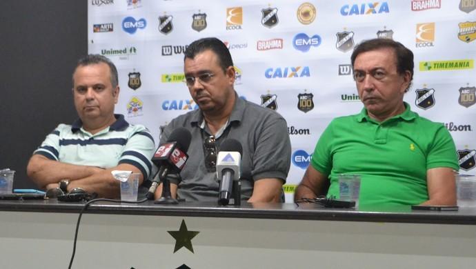 Rogério Marinho Marcelo Abdon Rubens Guilherme ABC