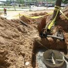 Empresa inicia aterramento de fios em acesso (Assis Cavalcante)