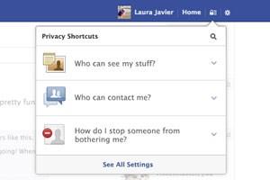 Novo atalho do Facebook para configurações de privacidade será exibido em forma de cadeado. (Foto: Divulgação/Facebook)
