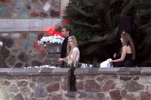 Casamento Avril Lavigne (Foto: Reprodução/ Facebook)