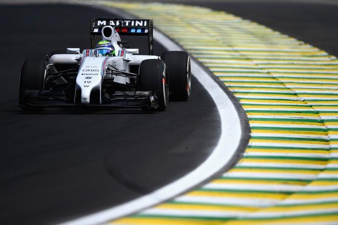 Felipe Massa Williams treinos livres para GP do Brasil Interlagos (Foto: Getty Images)
