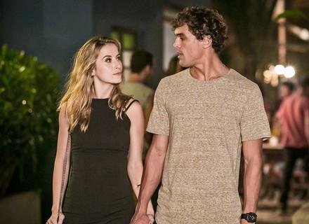Bárbara alfineta Gabriel: 'Teu irmão e a Joana até que formam um casal bonito, não acha?'