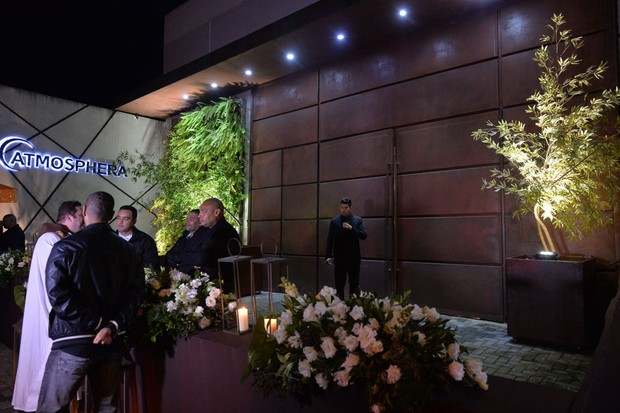 Casamento de Pelé e Marcia Cibele (Foto: Francisco Cepeda e Thiago Duran/AgNews)