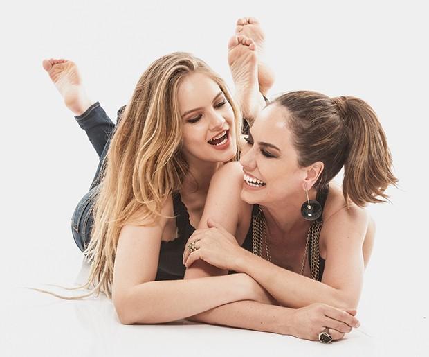 Adriana Prado e Valentina Bulc (Foto: Vinicius Mochizuki)