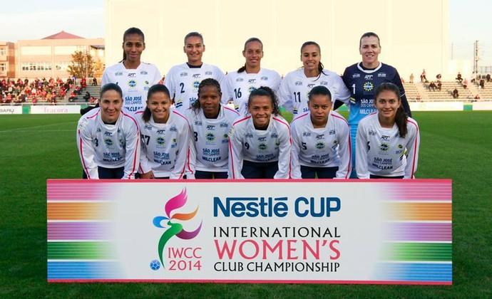 São José Futebol Feminino Mundial no Japão (Foto: Mengo DoJapão/Divulgação)