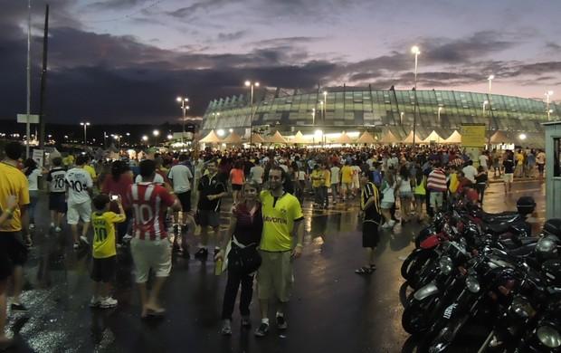 Vista geral da Arena Pernambuco (Foto: Elton de Castro / Globoesporte.com)