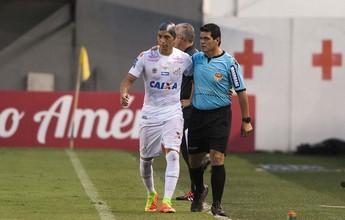 Com corte profundo, Ricardo Oliveira recebe 15 pontos na cabeça