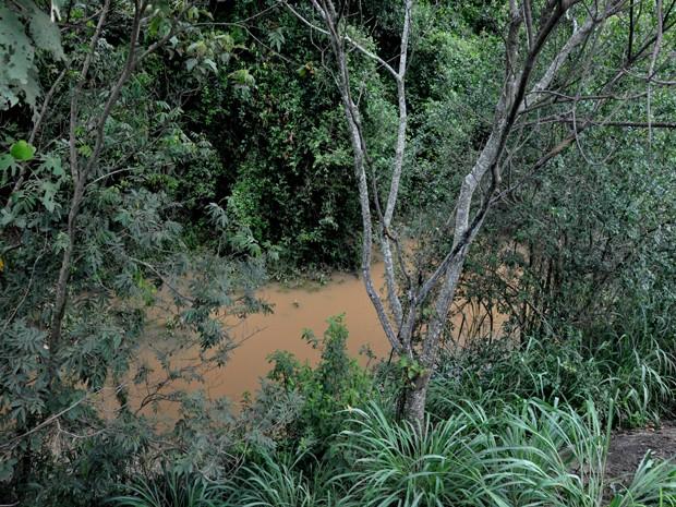 Rio Capivari em Bom Despacho (Foto: Assessoria/Divulgação)