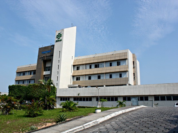 Hospital Pronto-Socorro João Lúcio fica situado na Zona Leste de Manaus (Foto: Adneison Severiano/G1 AM)