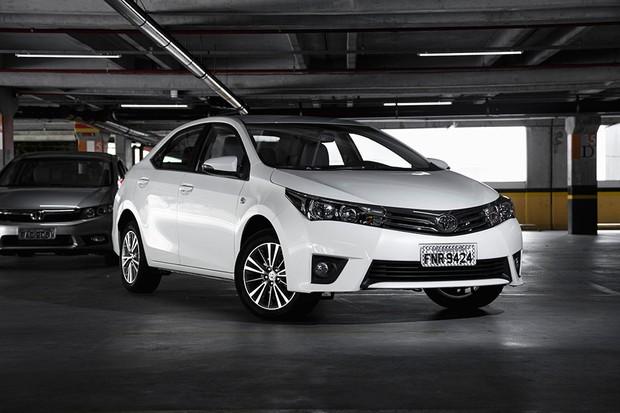 Toyota Corolla (Foto: Fabio Aro / Autoesporte)